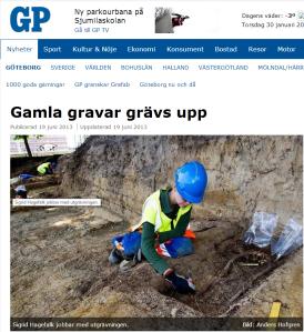20130619 Gamla gravar grävs upp