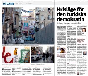 20140318 - GP - Krisläge för den turkiska demokratin