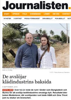 http://www.journalisten.se/nyheter/de-avslojar-kladindustrins-baksida